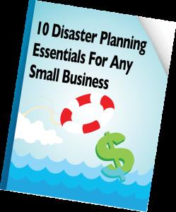 10 disaster plan